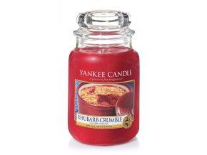 vyr 3680yankee candle rhubarb crumble velka