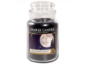 yankee candle large jar midsummers night