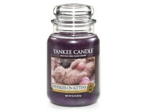 Yankee Candle Whiskers on Kittens 623 g velká