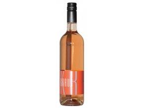 Mělnické vinařství Kraus Modrý portugal rosé jakostní 2017 0,75l