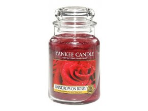 vyr 5493yankee candle raindrops on roses