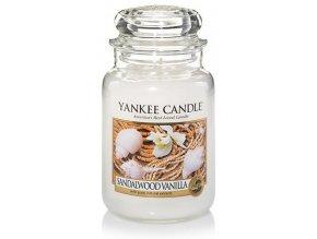 Yankee Candle Sandal Wood Vanilla 623 g velká