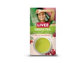 Čaj Livee Green Tea - Sypaný Goji a Cranberry 60 g