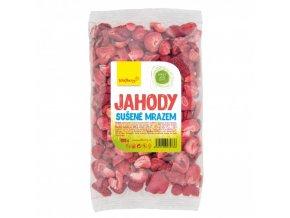 Jahody plátky sušené mrazem 100 g Wolfberry