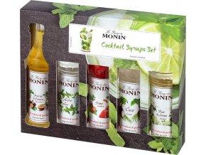 Monin Cocktail box mini 5 x 50 ml - koktejlový box malý