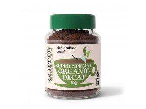 Bio Clipper Organic Decaf Arabica Instant Coffee - Instantní káva bez kofeinu 100g