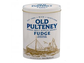 Old Pulteney fudge bonbóny v plechu 300g
