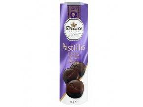 Bonboniéra Pastilles Extra Dark 75% - pastilky z hořké čokolády 100g Droste