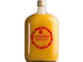 Bartida Vaječňák - vaječný likér 1 l dárkové balení se skleničkami
