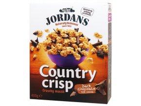Country Crisp Dark Chocolate - Cereálie s hořkou čokoládou 400g Jordans