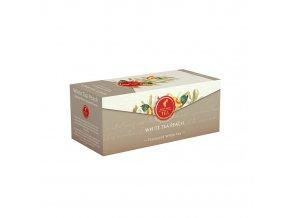 Prémiový čaj White Tea Peach - bílý čaj s broskví 25x1,75 g Julius Meinl