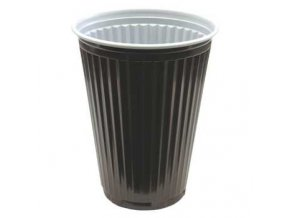 Kelímek na kávu hnědý 180ml 100ks