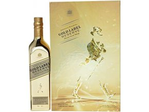 Johnnie Walker Gold Label Reserve 0,7 l Dárkové balení se skleničkami
