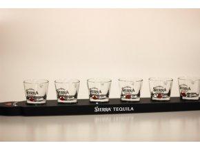 Sierra tequila pádlo s panáky