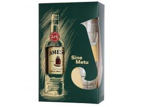 Whiskey Jameson 40% 0,7 l (dárkové balení 2 skleničky)
