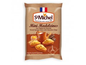 st michel mini madeleines chocolate chips 175g (1)