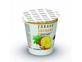 Zdravá snídaně Ananas rozinky 78g Obenzin