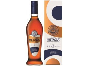 metaxa 7 stars bottle gb front