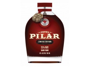 Papas Pilar Dark Rum Bourbon Barrel Finished 0,7l