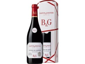 Barton&Guestier Cotes du Rhone AOC 0,75L, dárkové balení