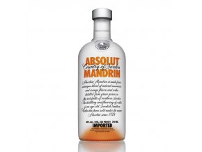 Absolut vodka mandarin 0,7 l