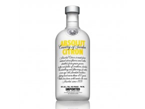 Absolut vodka citron 0,7 l