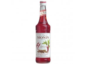 Monin spicy - skořice + chilli 0,7 l