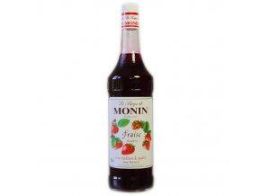 Monin strawberry - jahoda 1 l