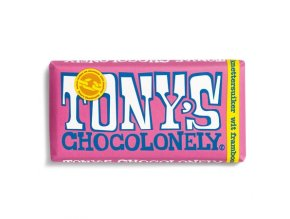 Tonys Chocolonely Wit Framboos Knettersuiker