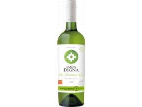 Santa Digna Sauvignon Blanc 2018 - bezalkoholové víno 0% 0,75l