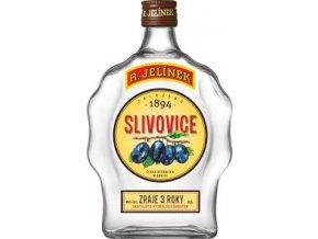 Rudolf Jelínek Slivovice budik 45% 0,5 l (holá láhev)