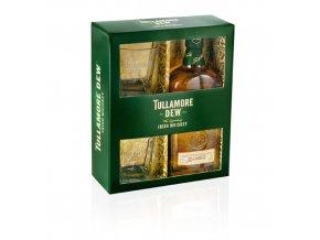 Tullamore Dew 0,7 l dárková kazeta se skleničkami