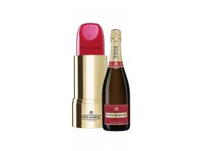 Champagne Cuvée Brut Lipstick Edition v dárkové krabičce 12% 0,75l Piper Heidsieck