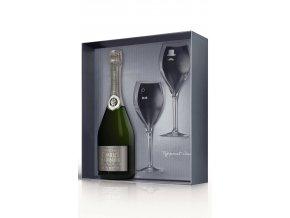 Charles Heidsieck Blanc de Blanc v dárkovém balení se skleničkami 12,5% 0,75l