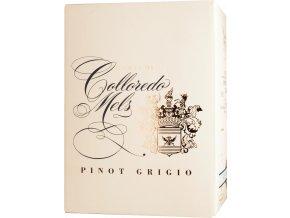 Bag in box Colloredo Mels Pinot Grigio - rulandské šedé 2018 5l