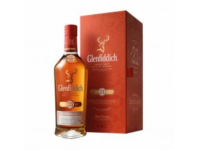 glenfiddich 21 year old bottle box