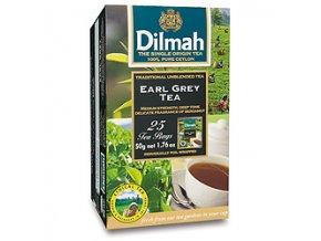 Čaj černý Earl Grey 25sáčků DILMAH
