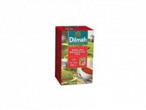 Čaj černý English Breakfast 25sáčků DILMAH
