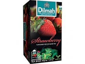 Čaj černý jahoda 40g DILMAH