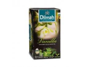 Čaj černý vanilka 20sáčků DILMAH