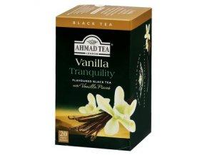 Čaj Černý s příchutí vanilka 40g Ahmad Tea