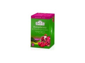 Čaj zelený Malina a granátové jablko 40g Ahmad Tea