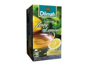 Čaj Naturally Zesty Lemon 20 sáčků DILMAH