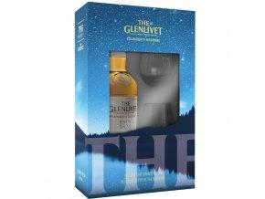 Whisky The Glenlivet Founders Reserve v dárkovém balení se skleničkou 40% 0,7l