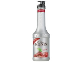 Monin puree cherry 1l - pyré třešeň