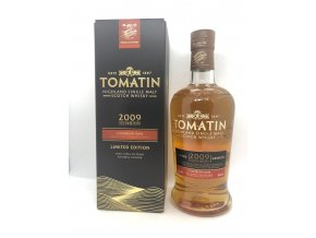 Whisky Tomatin 2009 10YO Caribbean rum cask finish 46% 0,7l