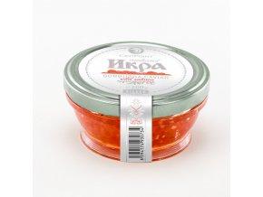 Kaviár z Divokého Lososa Gorbuša Premium ve skle 100g Gourmet Partners