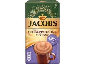 Káva Jacobs Cappuccino Milka 8x18g