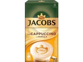 Káva Jacobs Cappuccino Vanilla 8x15g