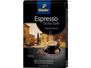 Káva Tchibo Espresso Sicilia Style - zrnková  500g